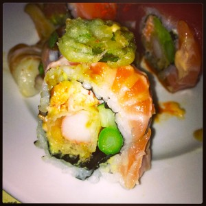 Torched Salmon Roll