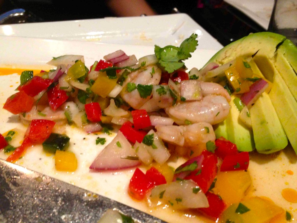 Shrimp Ceviche Scoop