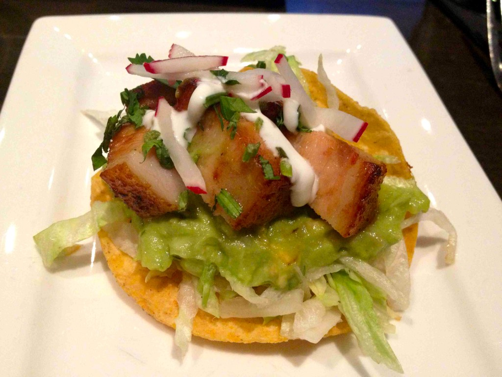 Pork Belly Tostada