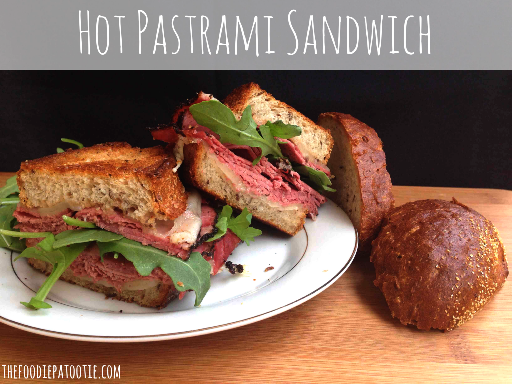 Hot Pastrami Sandwich for Hot Pastrami Sandwich Day #sandwich #beef #recipe