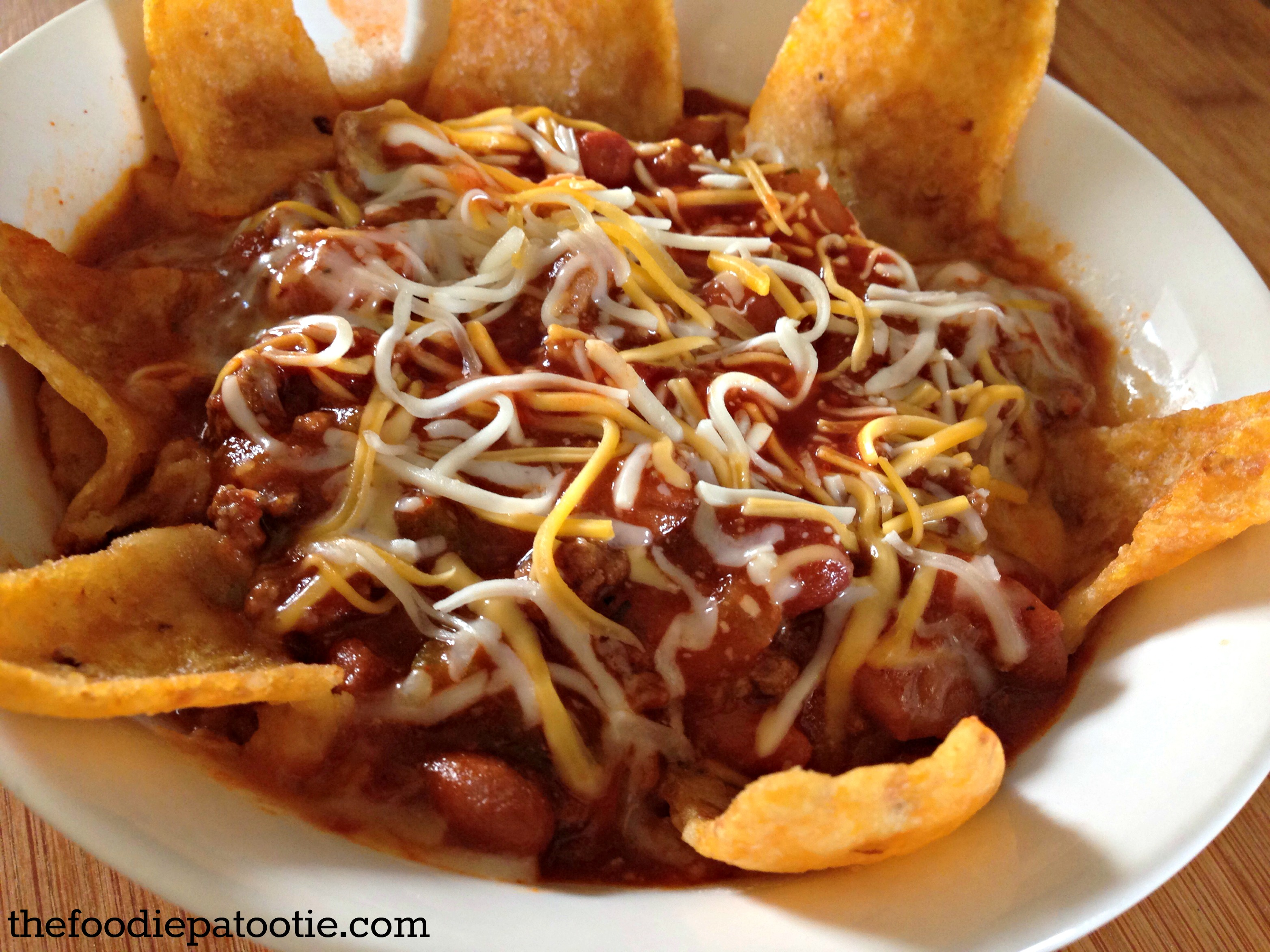 National corn chip day good ol chili the foodie patootie for What can i make with tortilla chips