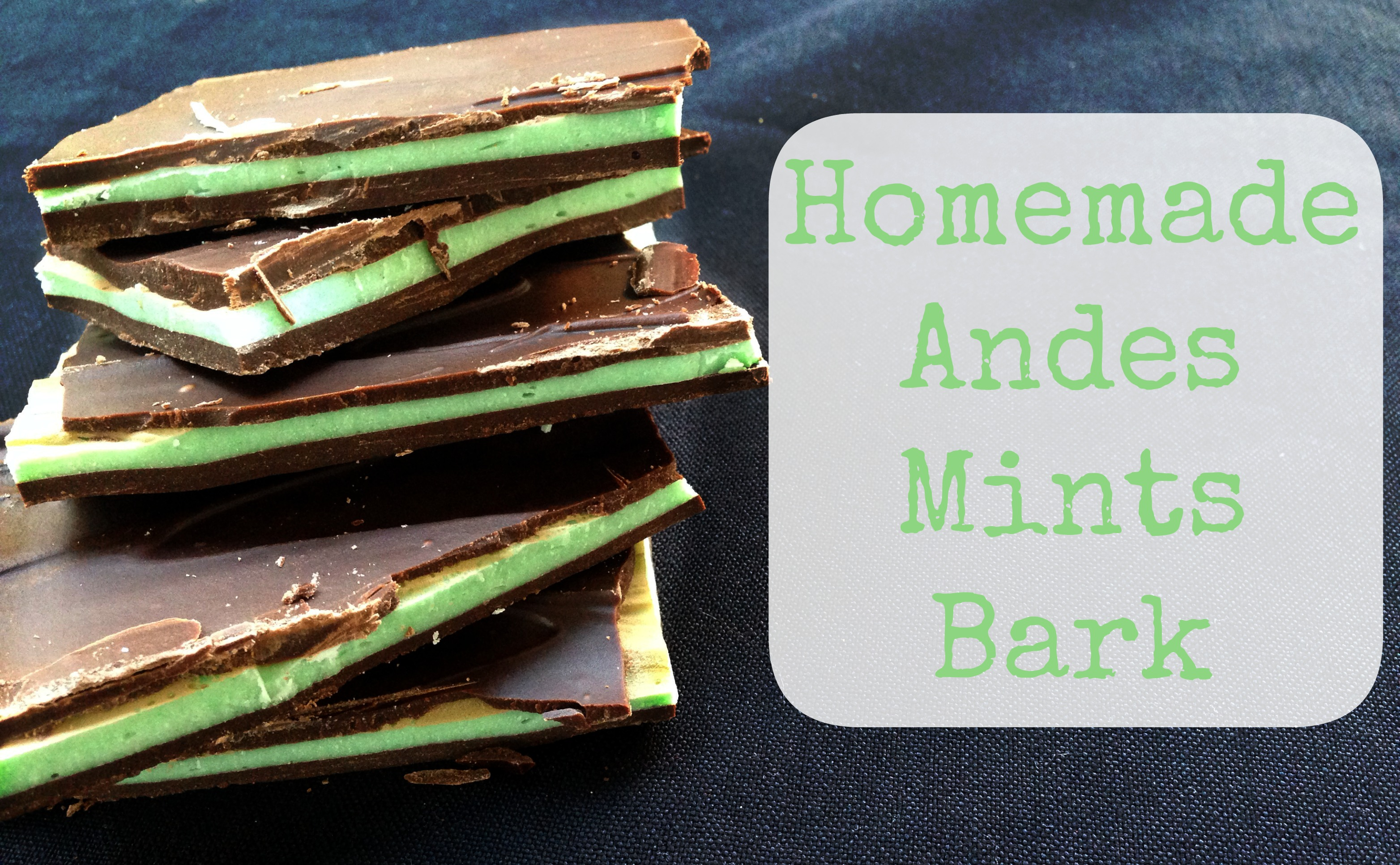 National Chocolate Mint Day Homemade Andes Chocolate Mints Bark The Foodie Patootie