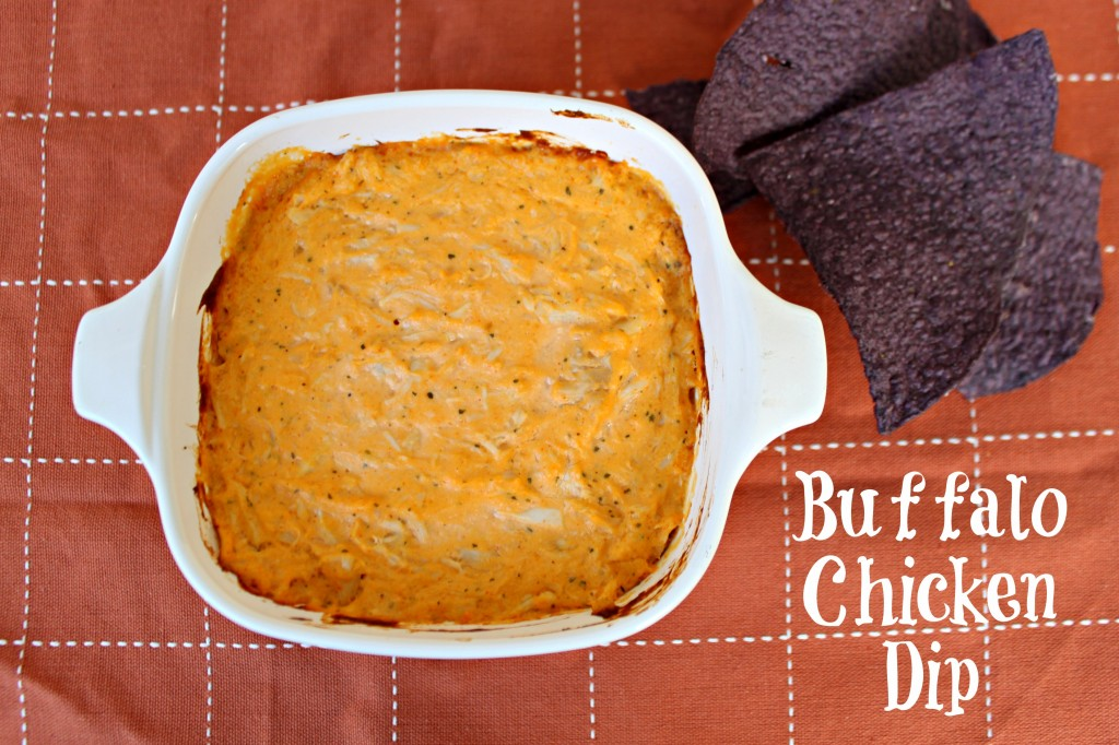 Buffalo Chicken Dip via TheFoodiePatootie.com | #appetizer #chicken #poultry #recipe #dip #foodholiday