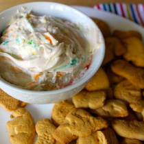 National Animal Crackers Day | Funfetti Dip