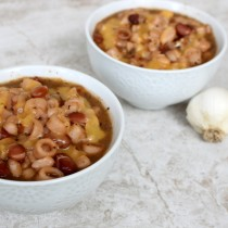 National Garlic Day | Pasta & Bean Soup