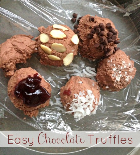 National Truffles Day |Easy Chocolate Truffles