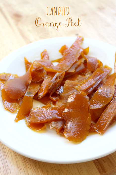 National Candied Orange Peel Day | Candied Orange Peel