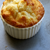 National Cheese Soufflé Day | Aged White Cheddar Soufflé