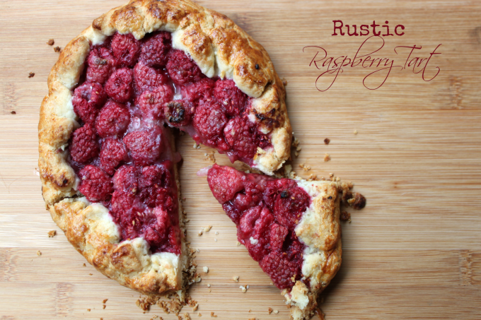 National Raspberry Tart Day | Rustic Raspberry Tart