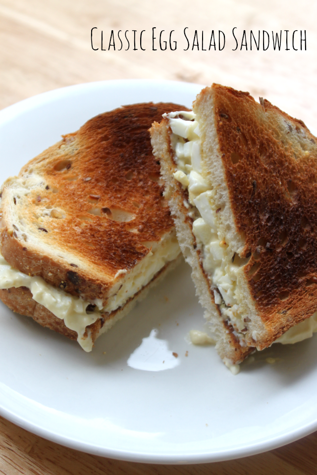 National Egg Day | Classic Egg Salad Sandwich