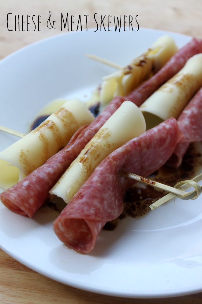 National Cheese Day | Cheese & Meat Skewers