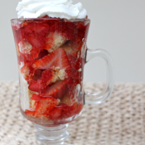 National Strawberry Shortcake Day | Strawberry Shortcake Parfait