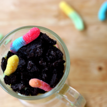 National Gummy Worm Day | A Dirt Dessert