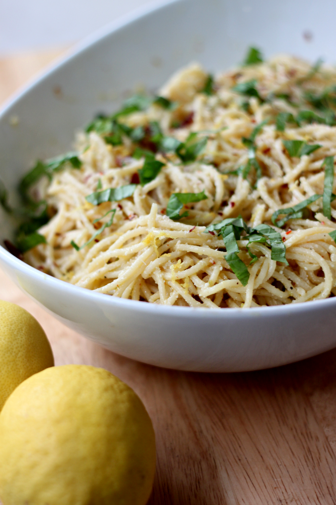 Lemon Spaghetti | Flavoring With Lemon Instead of Salt