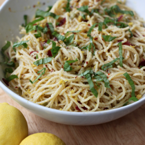 Flavoring With Lemon Instead of Salt | Lemon Spaghetti