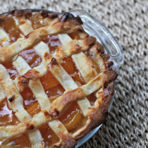 National Peach Pie Day | Individual Peach Pie