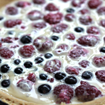 National Raspberries in Cream Day | Raspberries in Cream Tart