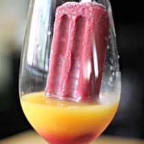 National Blueberry Popsicle Day   Berry Screwdriver