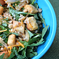 National Macadamia Nut Day | Macadamia Arugula Salad