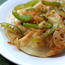 National Pierogi Day | Sautéed Pierogies