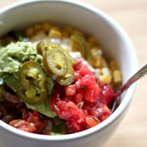 National Guacamole Day | Veggie Fajita Bowl