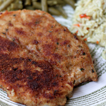 National Wienerschnitzel Day | Breaded Pork