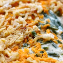 National Lager Day | Green Bean Casserole