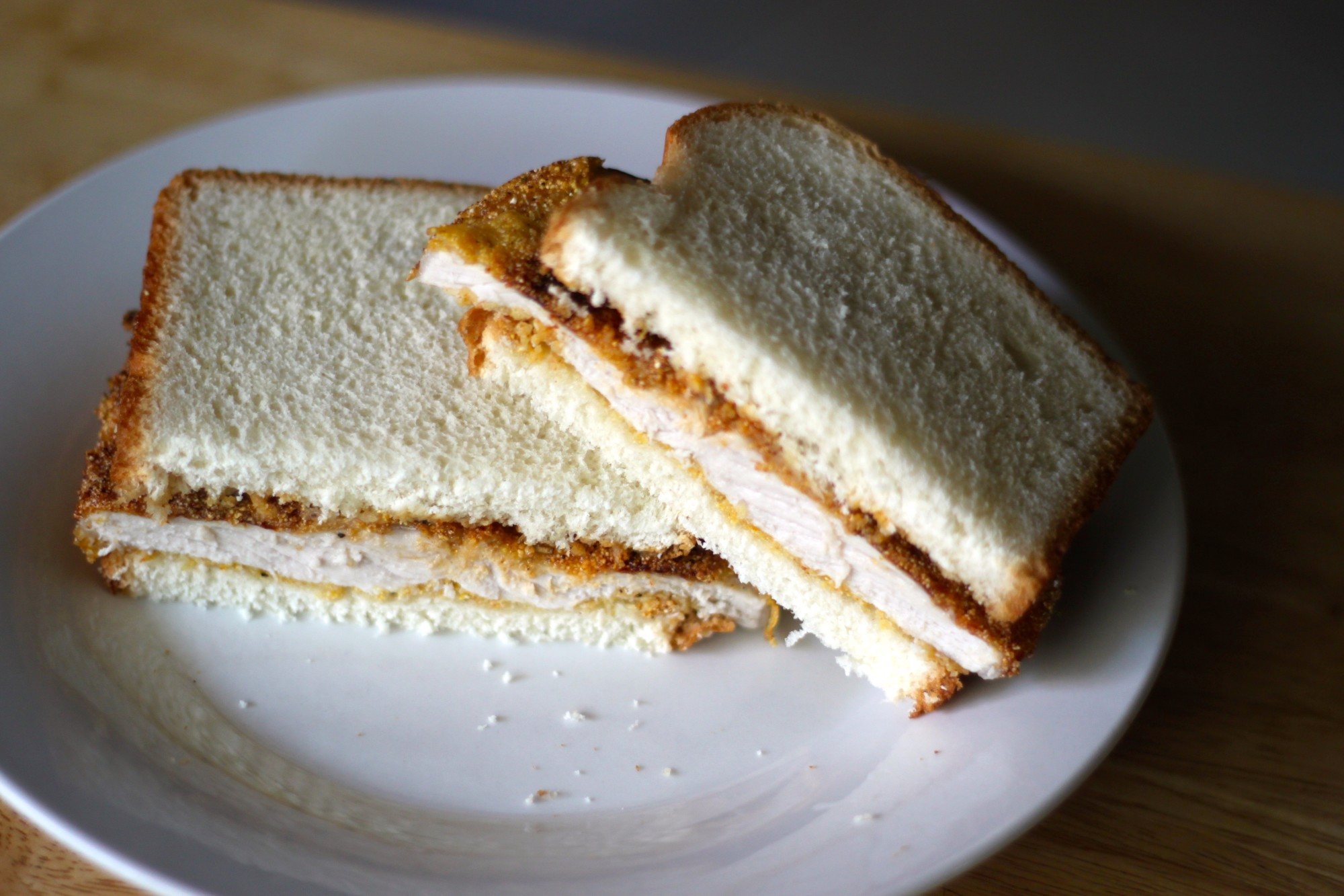 National Scrapple Day | Cornmeal-Fried Pork Sandwich