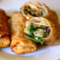 Easy Vegetarian Egg Rolls