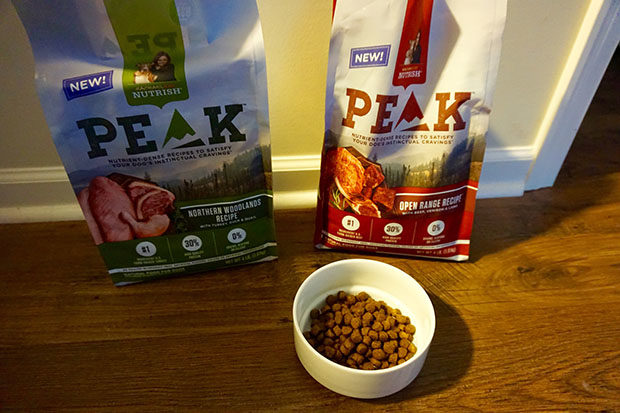 Rachael Ray Nutrish PEAK dog food