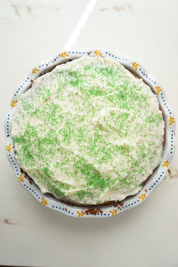 Key Lime Cake with NILLA Wafer Pie Crust