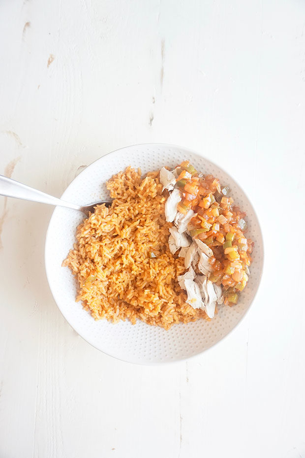 spanish style chicken and rice