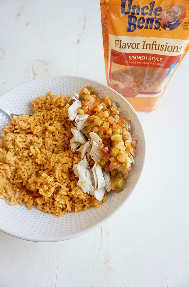 how to make chicken and rice spanish style