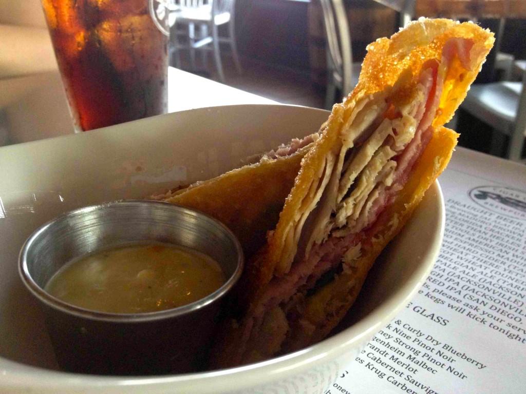 Cuban Sandwich Eggroll