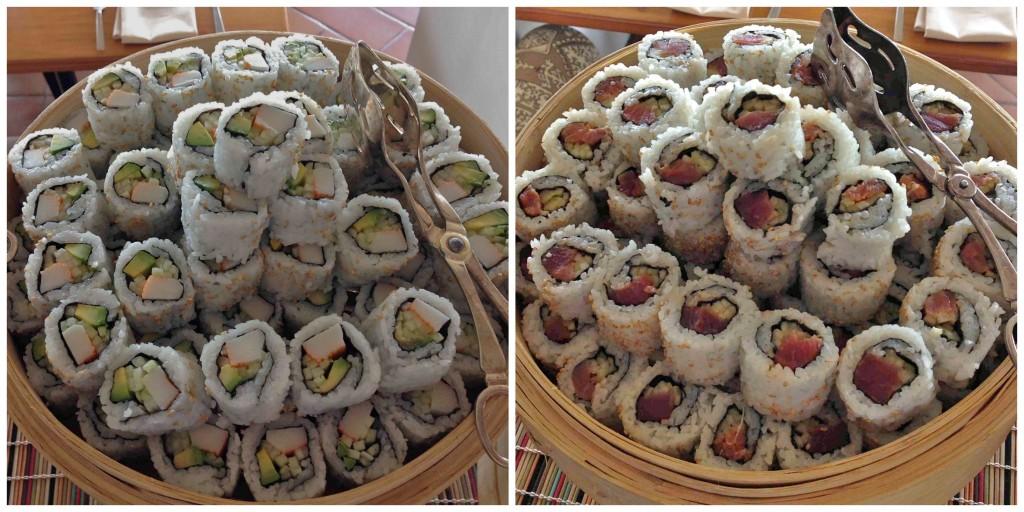 sushi oystercatchers