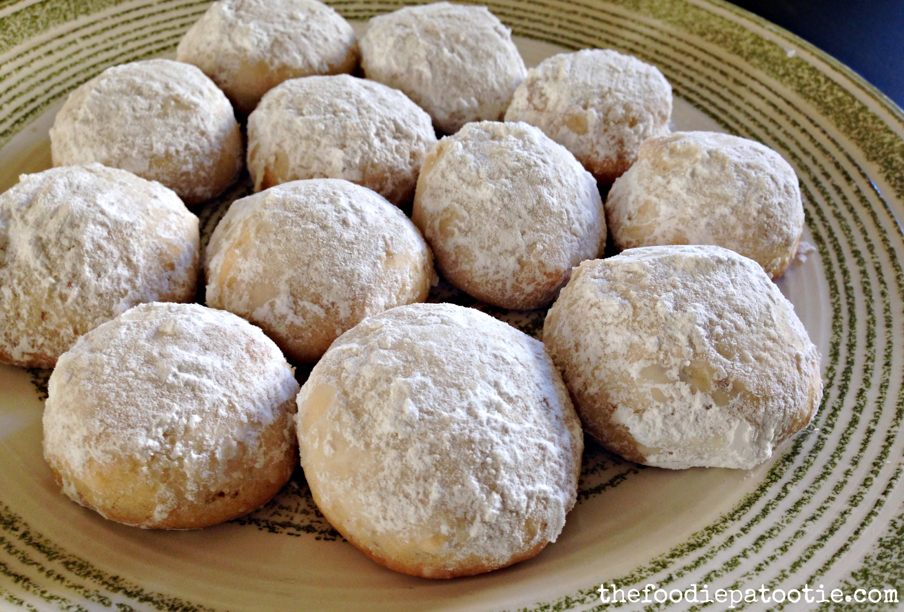 National Almond Day Almond Snowball Cookies