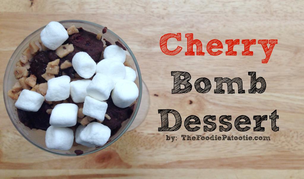 Cherry Bombs for National Chocolate Fondue Day via TheFoodiePatootie.com | #dessert #recipe #foodholiday #foodcalendar #chocolate #cherry #booze