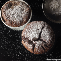 Easy Chocolate Souffle via TheFoodiePatootie.com | #chocolate #dessert #recipe #foodholiday