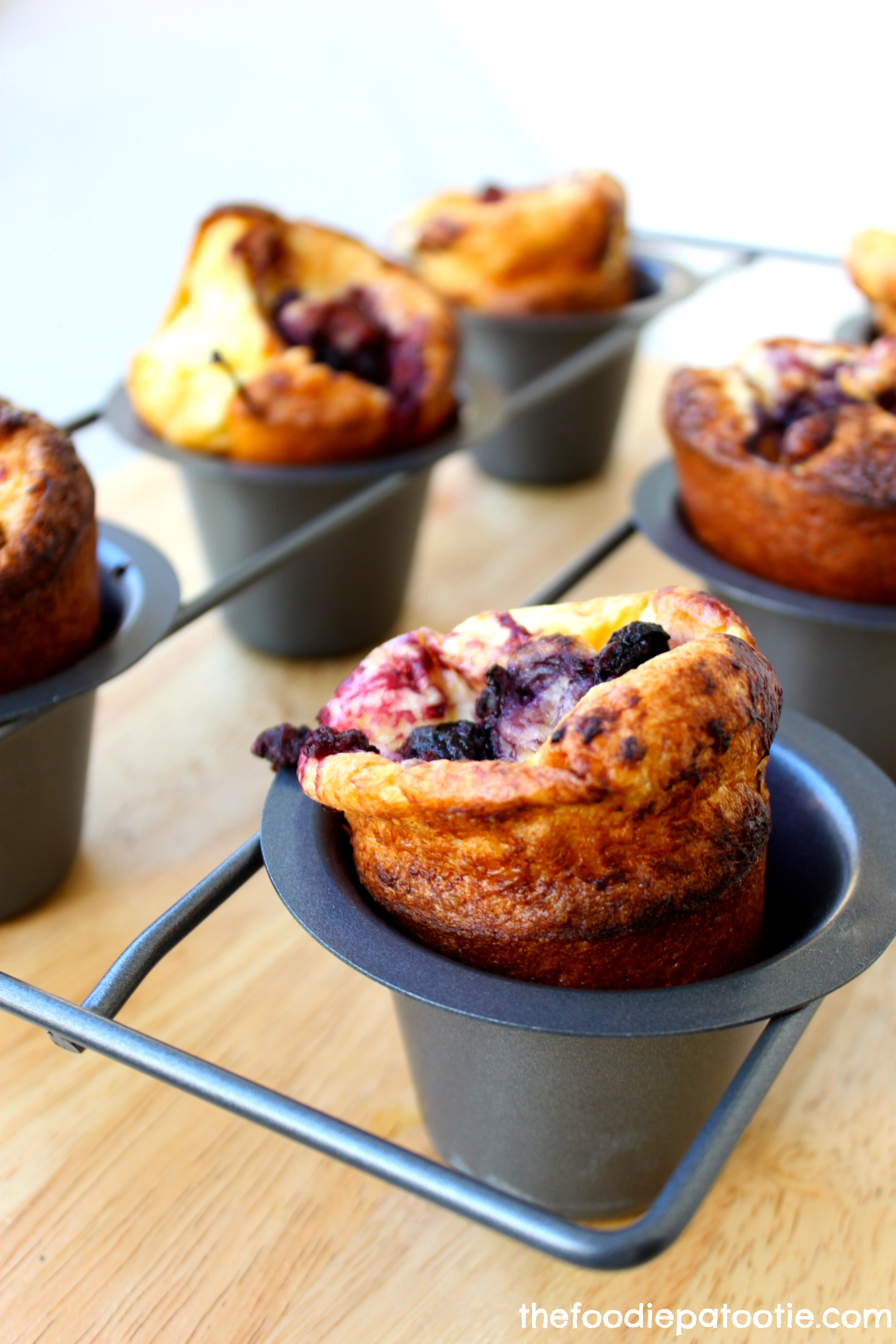 National Cherry Popover Day Cherry Popovers The Foodie