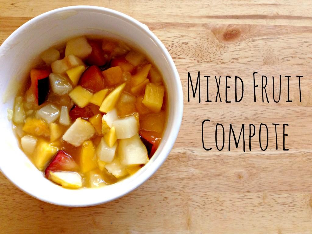 National Fruit Compote Day via TheFoodiePatootie.com | #fruit #recipe