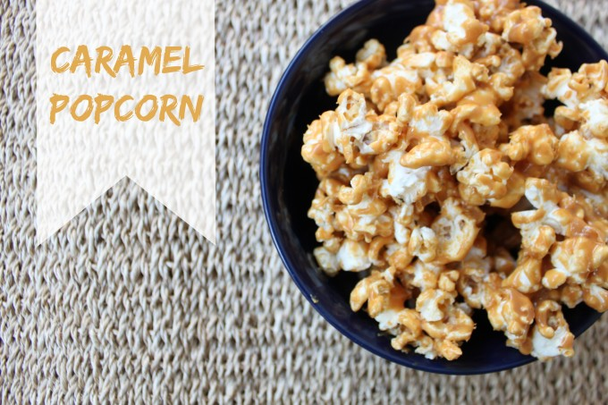 National Caramel Popcorn Day | Caramel Popcorn