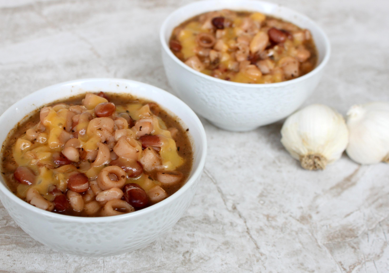 National Garlic Day | Pasta & Bean Soup