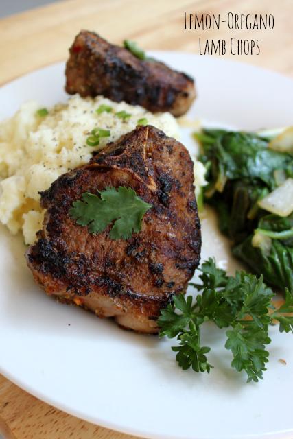 National Roast Leg of Lamb Day | Lemon-Oregano Lamb Chops