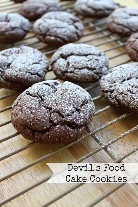 National Devil's Food Cake Day | Devil's Food Cake Cookies