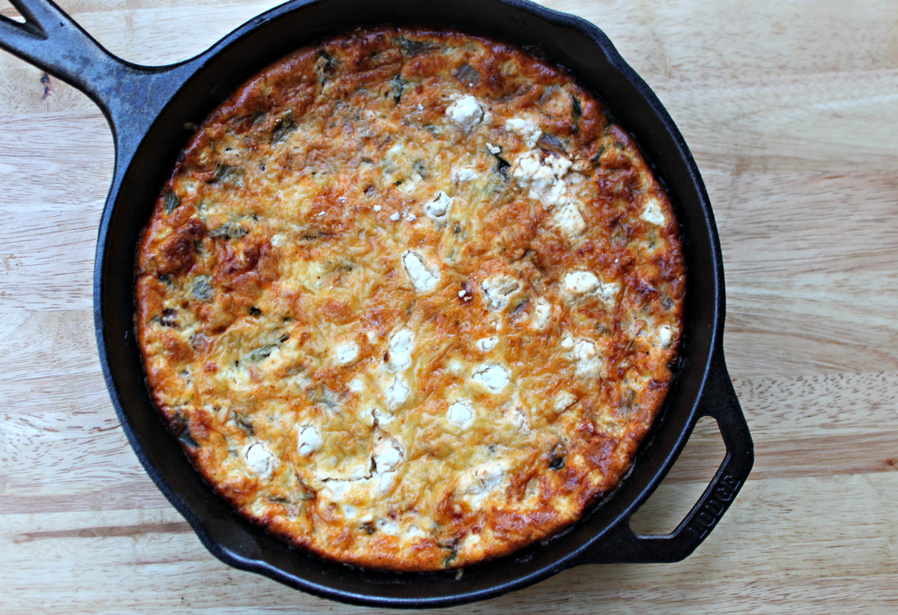 Summer Recipes with Hunt's Tomatoes: Tex-Mex Frittata