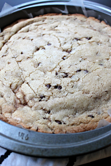 National Chocolate Chip Cookie Day | Chocolate Chip Cookie Cake