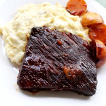 National Brisket Day | Slow Cooker BBQ Beef Brisket