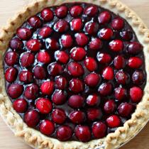 National Cherry Tart Day | Cherry Chocolate Tart