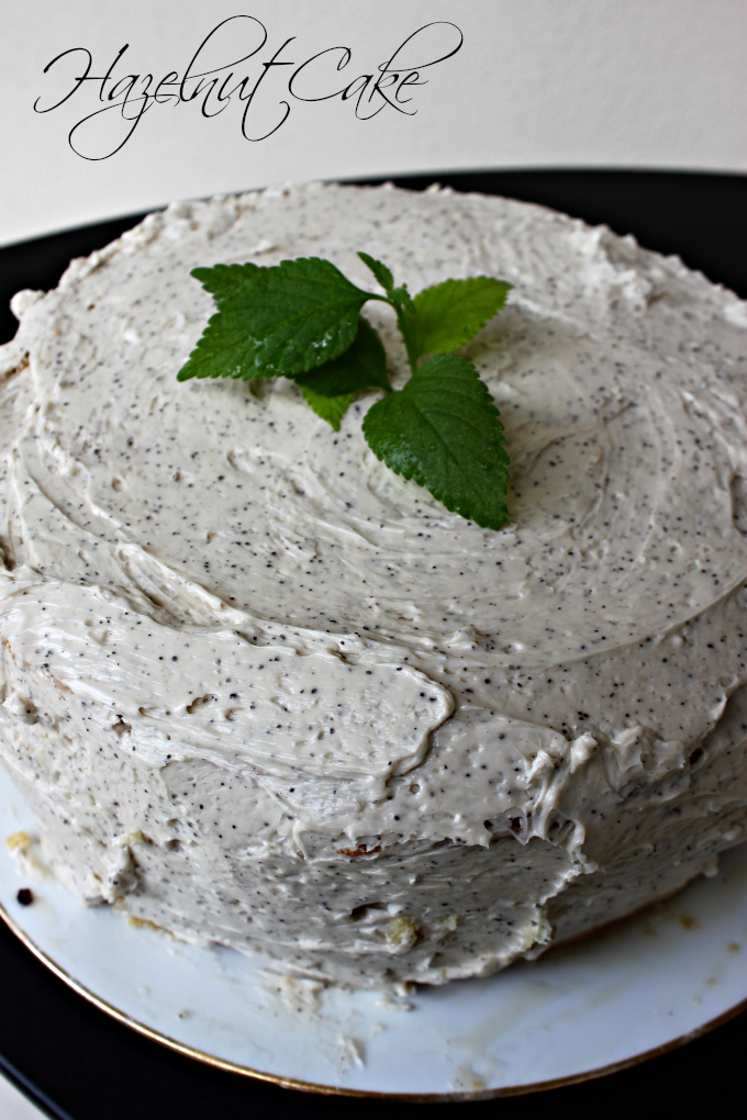 National Hazelnut Cake Day | Hazelnut Cake