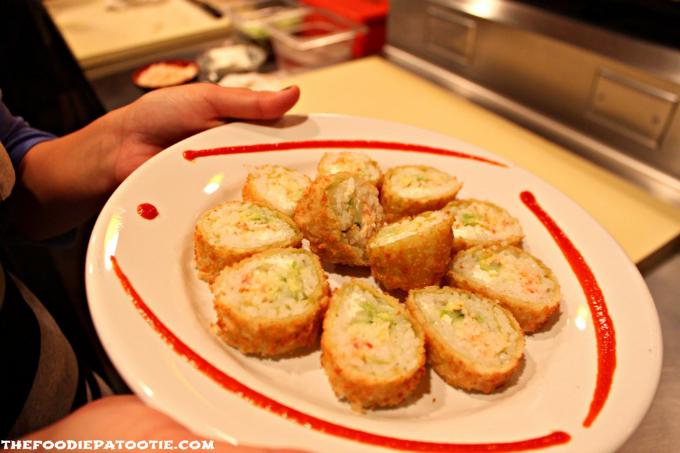 tempura dj sushi roll
